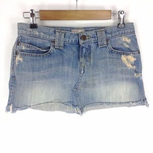 Abercrombie Denim Mini Skirt Sz 2